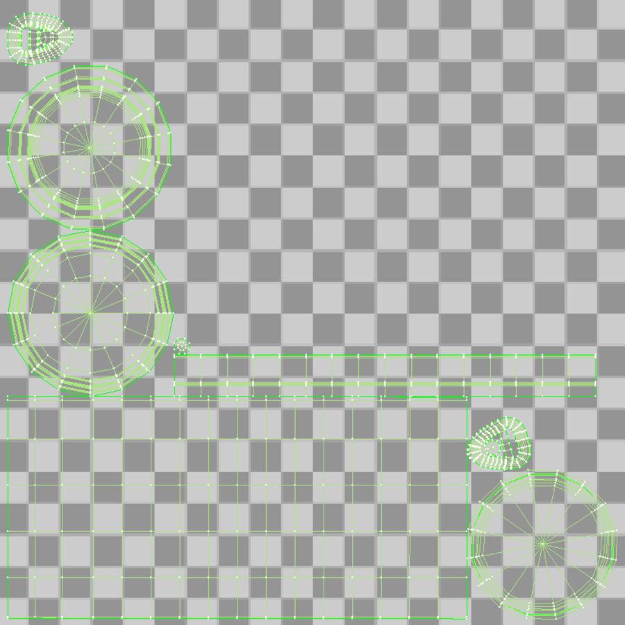 알루미늄 소다 캔 세트 royalty-free 3d model - Preview no. 6