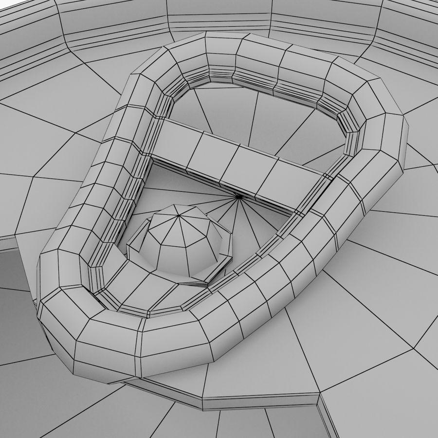 알루미늄 소다 캔 세트 royalty-free 3d model - Preview no. 5