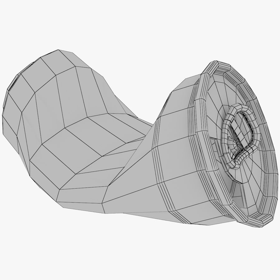 알루미늄 소다 캔 세트 royalty-free 3d model - Preview no. 7