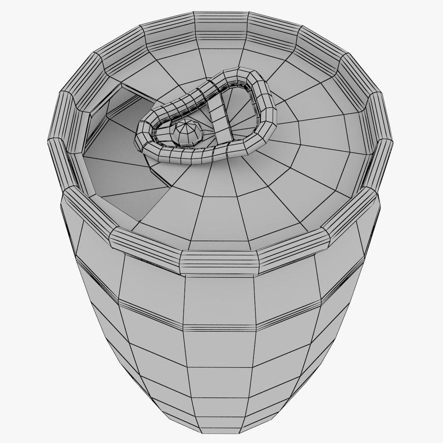 알루미늄 소다 캔 세트 royalty-free 3d model - Preview no. 3