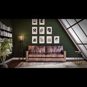 3ds Max顶层房场景 3d model