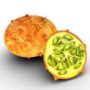Exotic fruit ( Kiwano ) 3d model