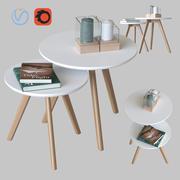 Kaffeetische Signal Milan 3d model