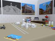 мини подвал город 3d model