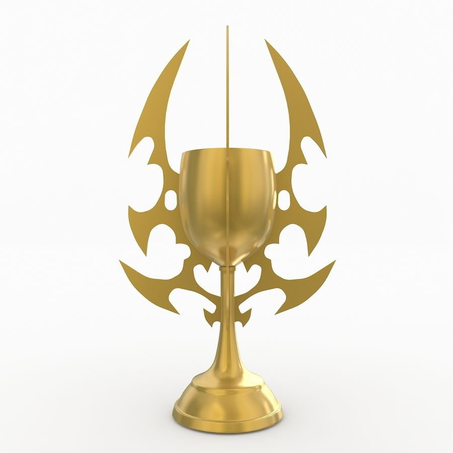 Kielich royalty-free 3d model - Preview no. 2