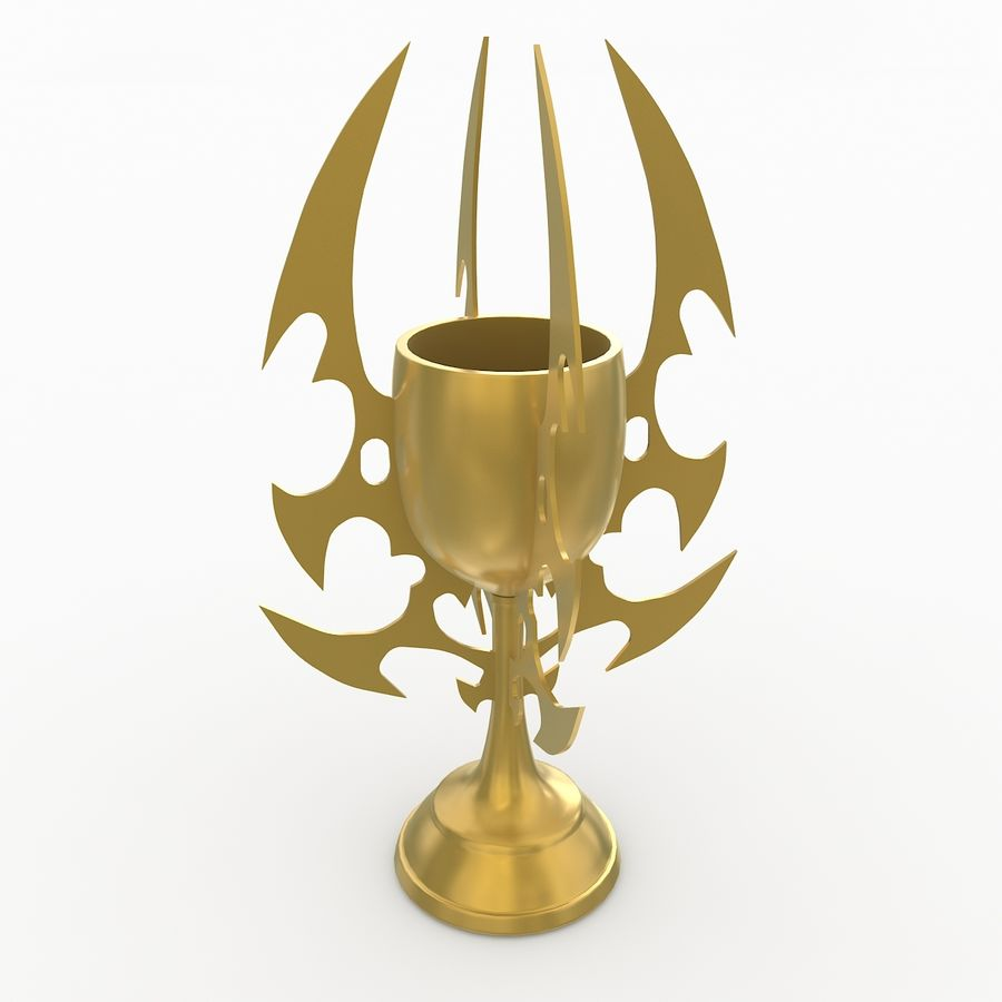 Kielich royalty-free 3d model - Preview no. 1