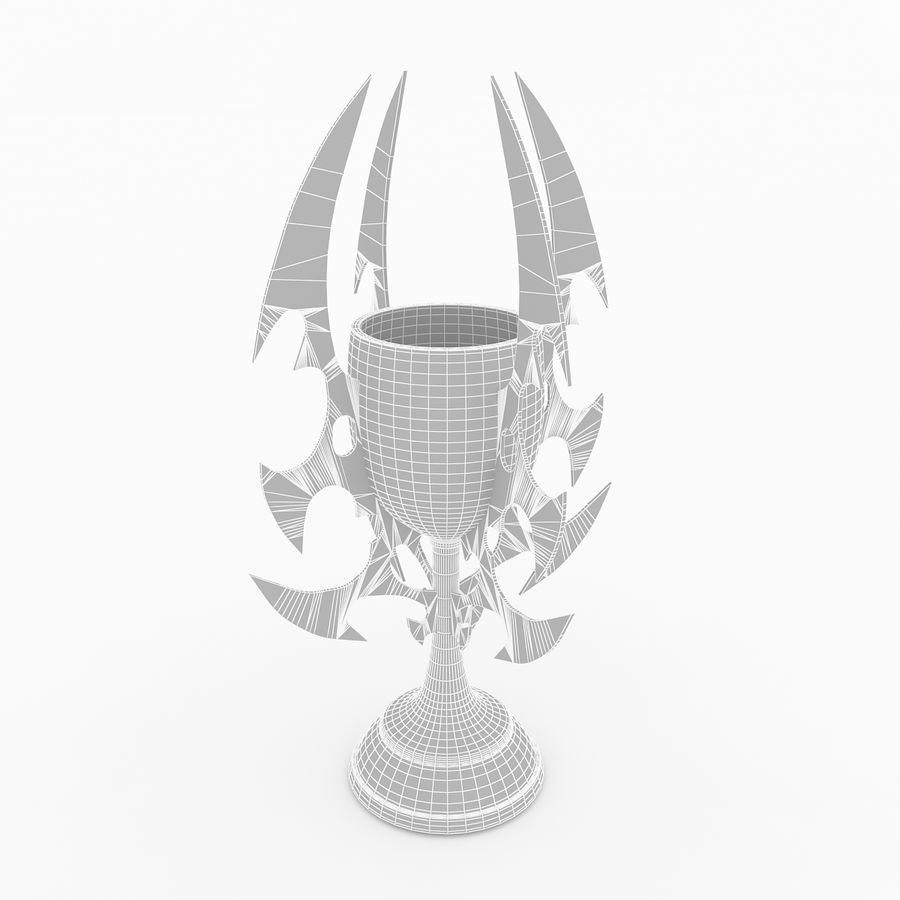 Kielich royalty-free 3d model - Preview no. 4