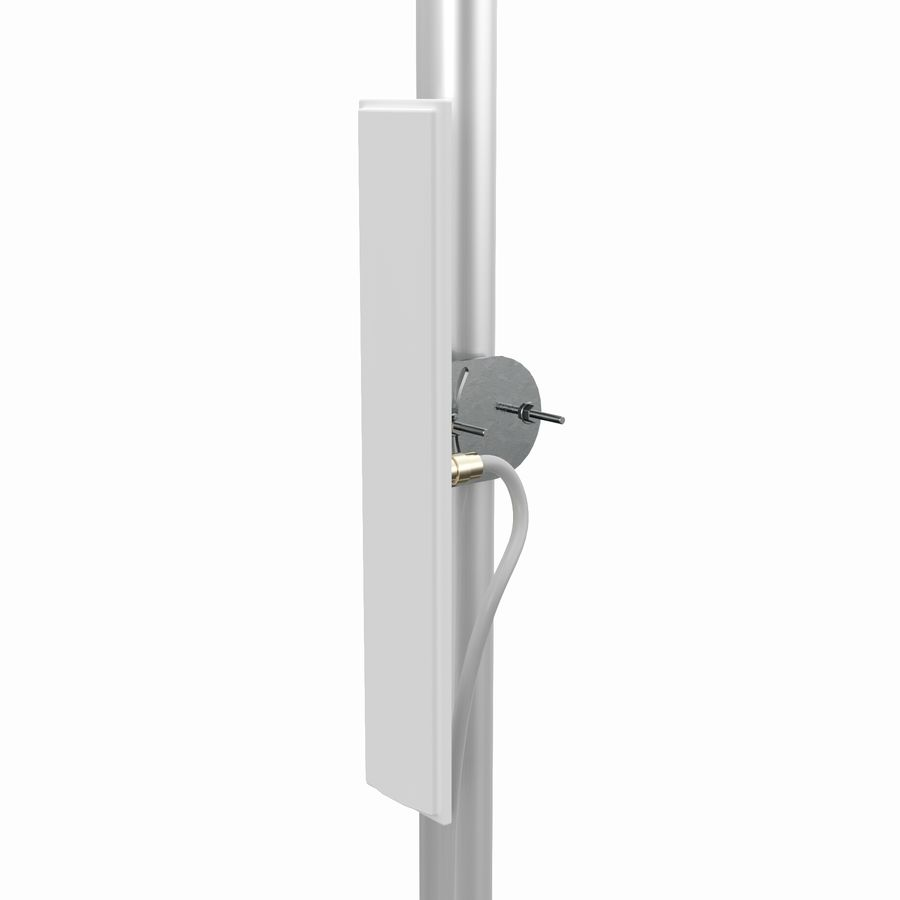 Wireless Antenna royalty-free 3d model - Preview no. 2