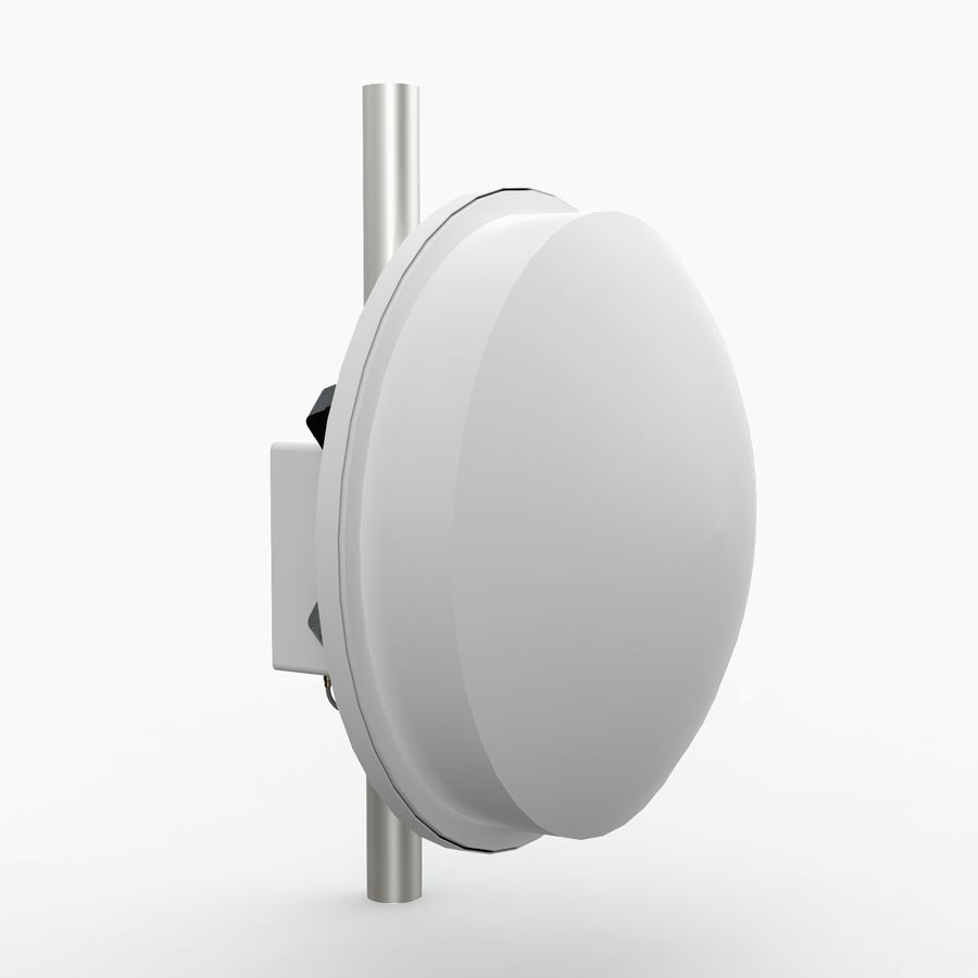 Wireless Antenna 60cm royalty-free 3d model - Preview no. 5