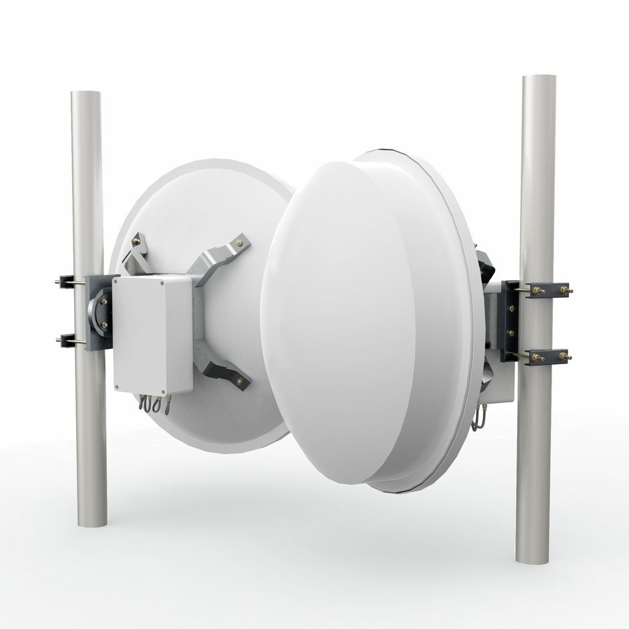 Wireless Antenna 60cm royalty-free 3d model - Preview no. 1
