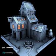 Fantasic House 3d model