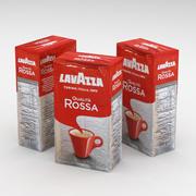 Coffe Bag Lavazza Qualita Rossa 250g 3d model