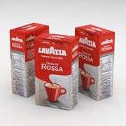Sac à café Lavazza Qualita Rossa 250g 3d model