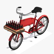 Toon Classical Bicycle 3d model