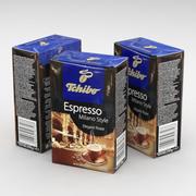 Кофейный пакетик Tchibo Espresso Milano Style молотый 250г 3d model