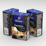Coffee Bag Tchibo Espresso Sicilia Style Ground 250g 3d model