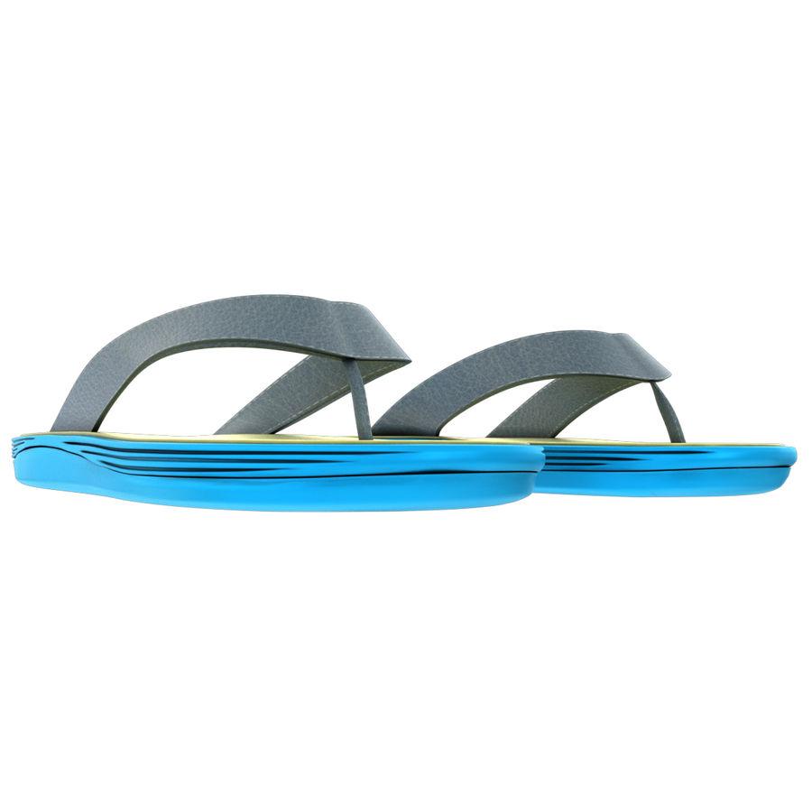 Flip-Flops royalty-free 3d model - Preview no. 9