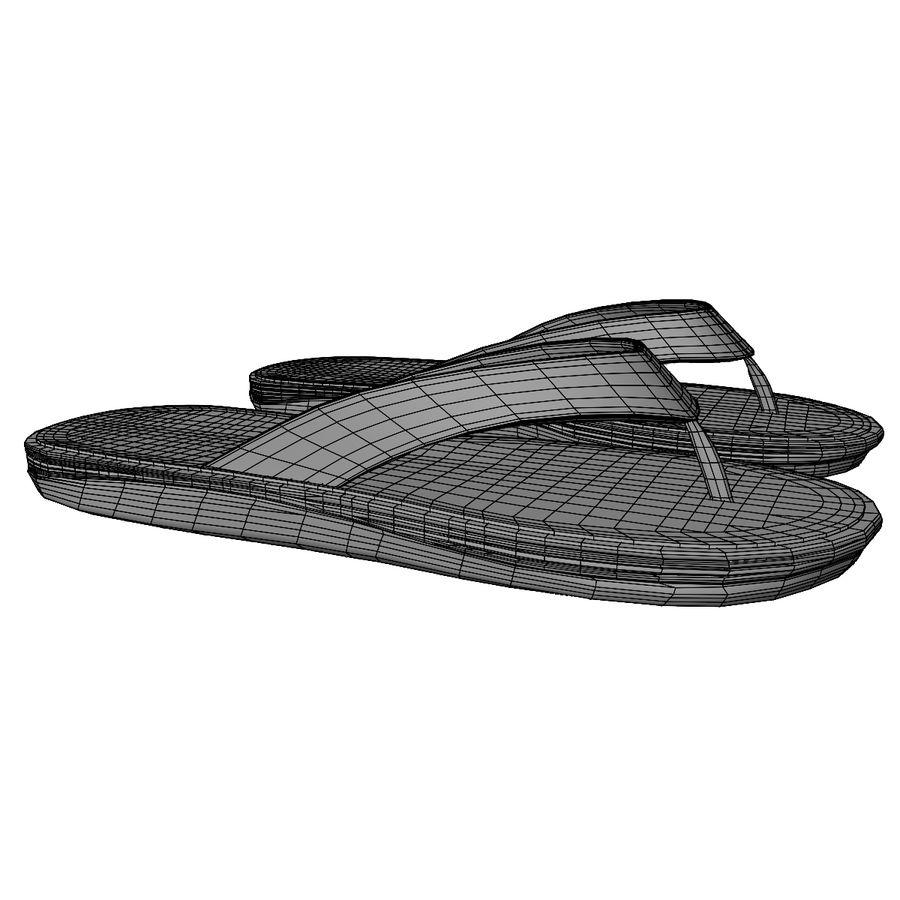 Flip-Flops royalty-free 3d model - Preview no. 18