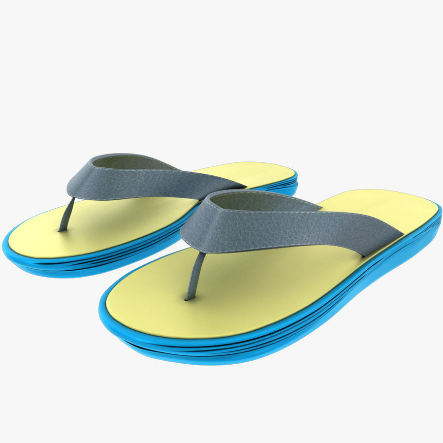 Flip-Flops royalty-free 3d model - Preview no. 1