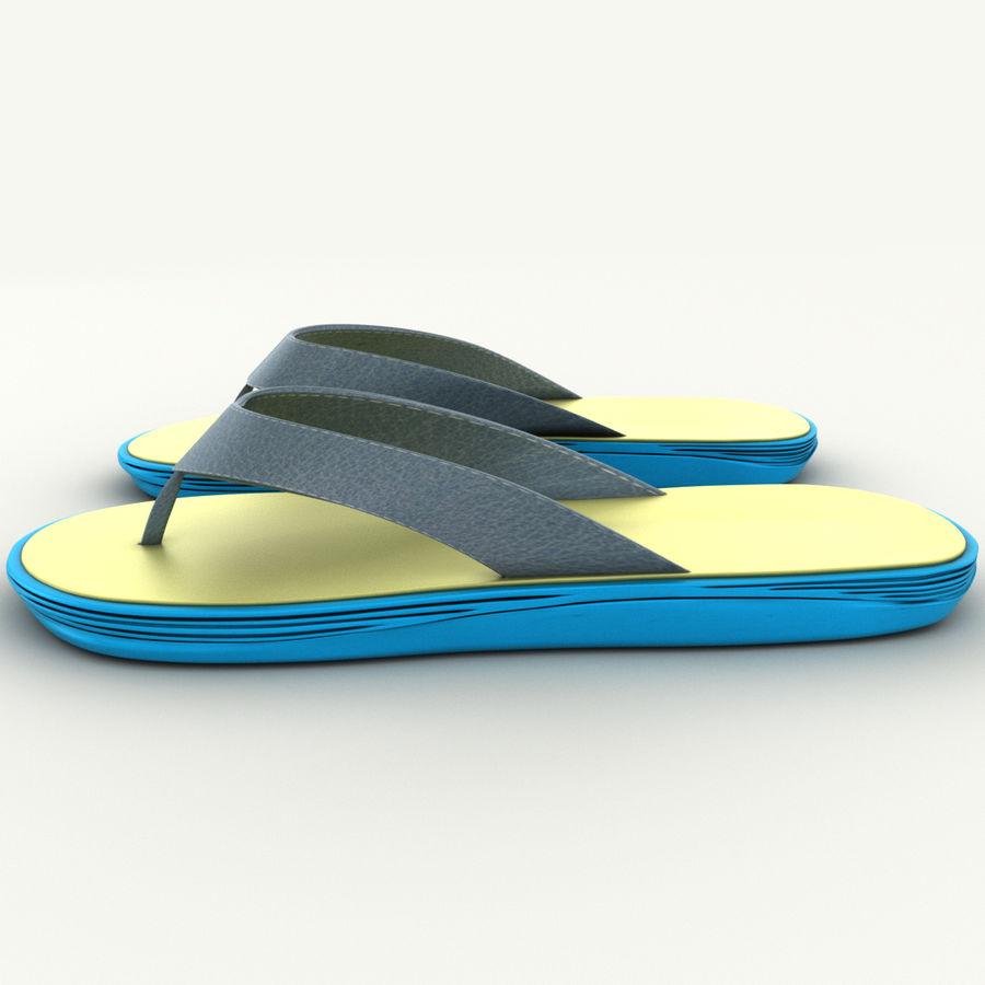 Flip-Flops royalty-free 3d model - Preview no. 5