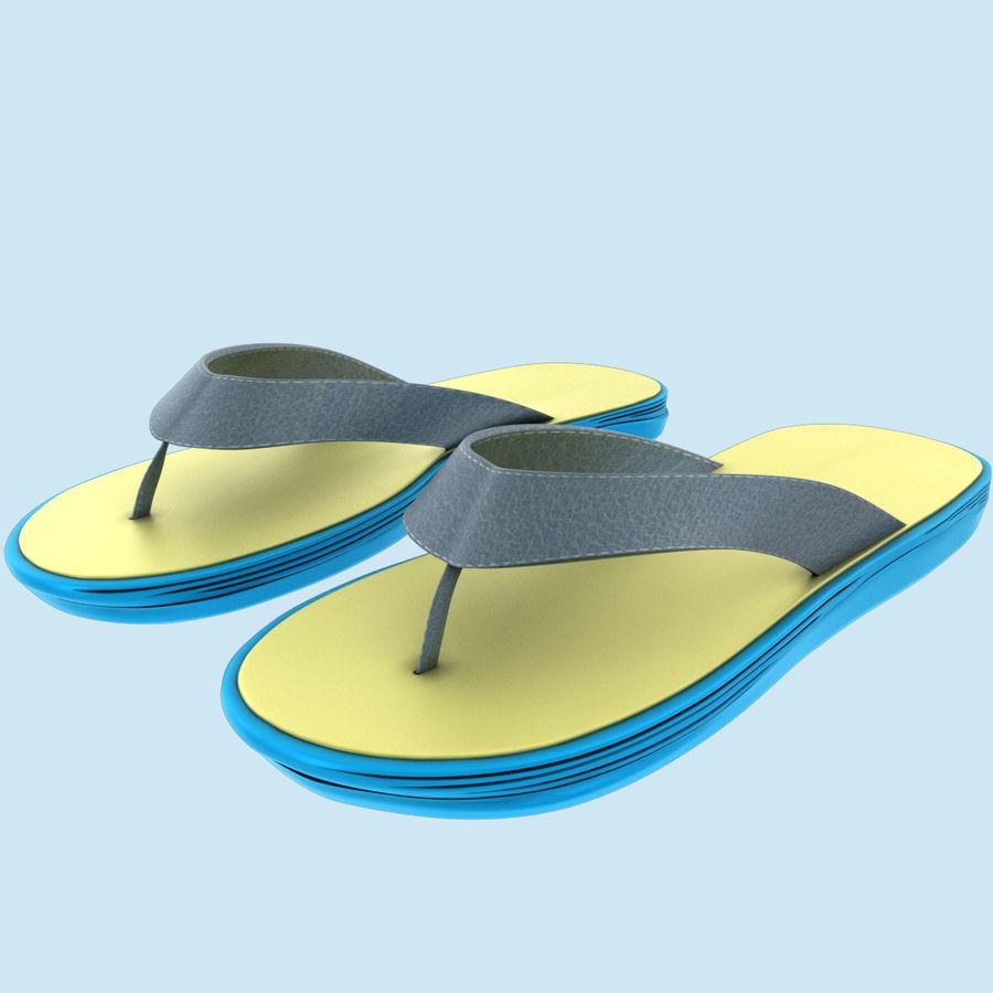 Flip-Flops royalty-free 3d model - Preview no. 2