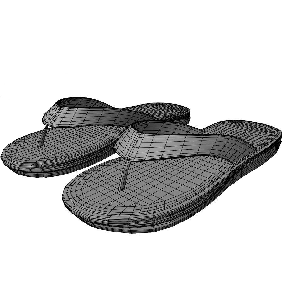 Flip-Flops royalty-free 3d model - Preview no. 12