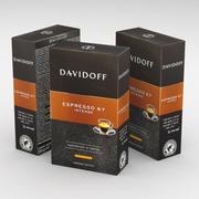 コーヒーボックスダビドフエスプレッソ57インテンスグラウンド250g 3d model