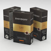 Boîte à café Davidoff Fine Aroma Ground 250g 3d model