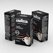 コーヒーバッグラバッツァカフェエスプレッソ250g 3d model