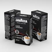 Кофейный пакетик Lavazza Caffe Espresso 250г 3d model