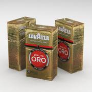 Kaffeväska Lavazza Qualita Oro 250g 3d model