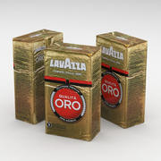 Sac À Café Lavazza Qualita Oro 250g 3d model