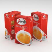 Coffe Bag Segafredo Zanetti Intermezzo 250g 3d model