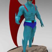 데빌맨 3D 프린트 준비 완료 3d model