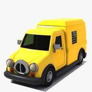 Toon Van 3d model