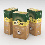 Coffe Bag Jacobs Cronat Gold Ground 250g 3d model
