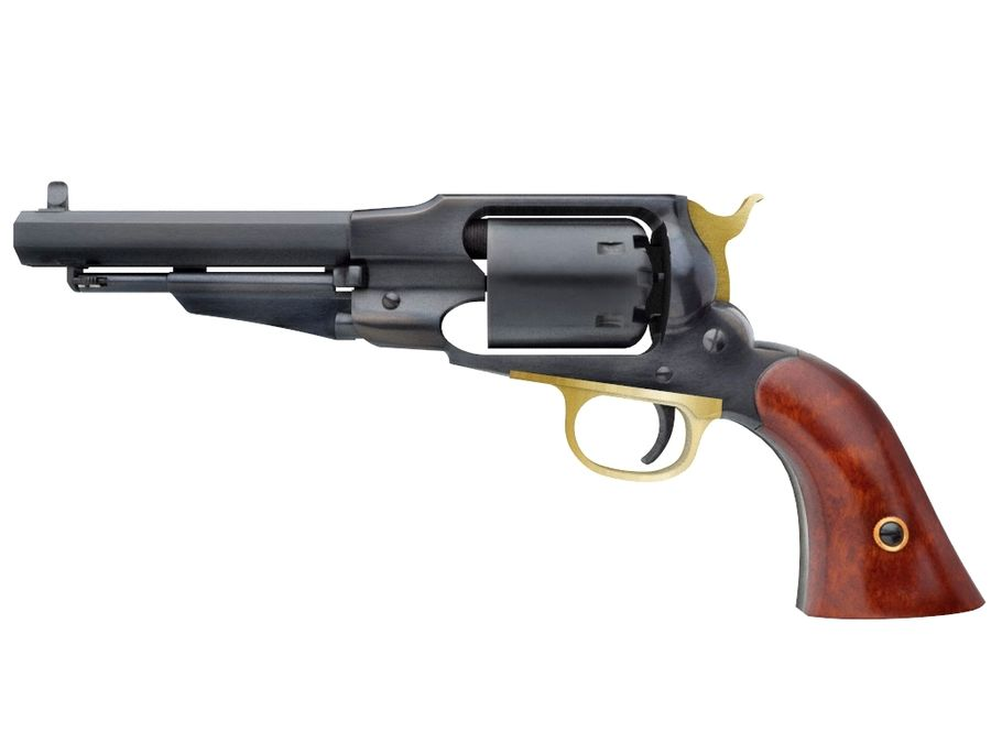 Gun Revolver Pistol royalty-free 3d model - Preview no. 1