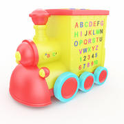 Toy Train Musical 3d model