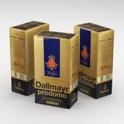 Coffee Bag Dallmayr Prodomo 250g 3d model