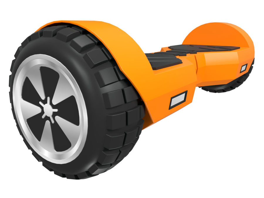 Hoverboard royalty-free 3d model - Preview no. 3