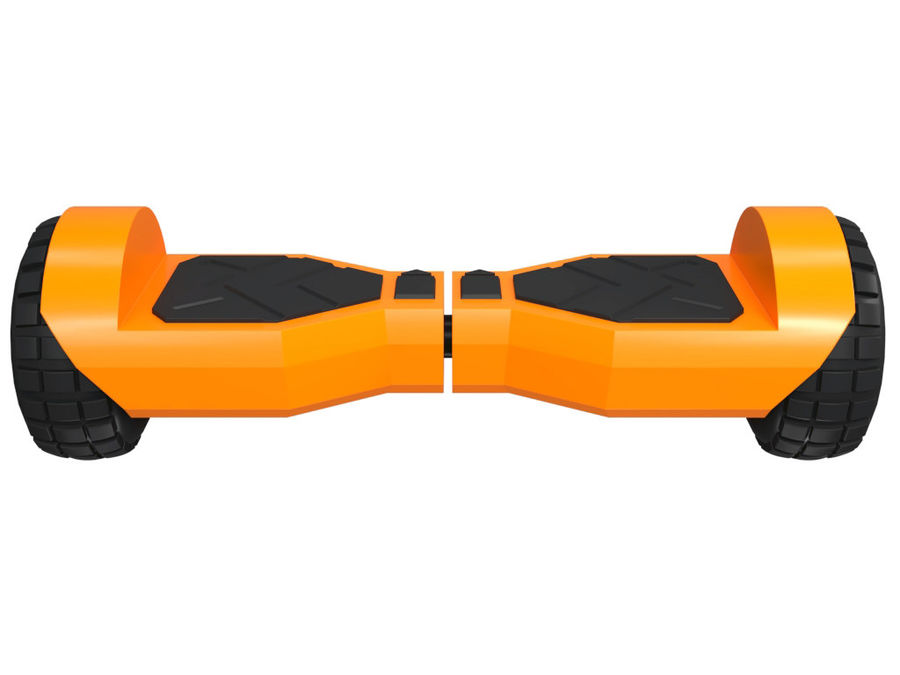 Hoverboard royalty-free 3d model - Preview no. 5