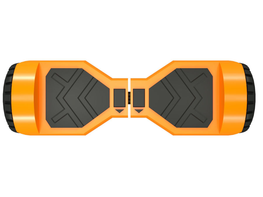 Hoverboard royalty-free 3d model - Preview no. 7