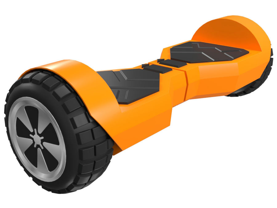 Hoverboard royalty-free 3d model - Preview no. 6