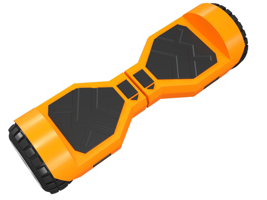 Hoverboard royalty-free 3d model - Preview no. 9