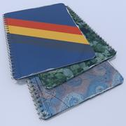 Spiral Bound Notebook 3d model