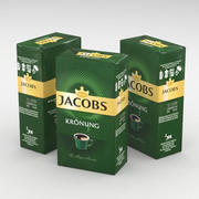 Coffe Bag Jacobs Cronung Ground 250g 3d model
