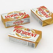 President Butter 200g 3d model