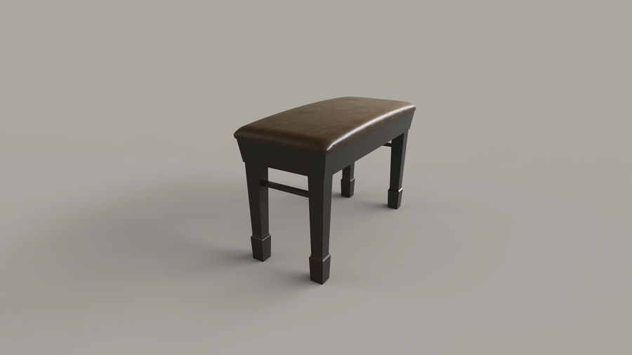 Flygel royalty-free 3d model - Preview no. 8