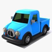 Toon Pickup 3d model