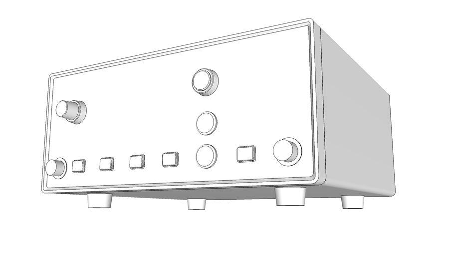 电源供应 royalty-free 3d model - Preview no. 7